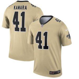 New Orleans Saints 41 Alvin Kamara Limited Jersey